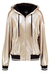 Just Cavalli Tracksuit Top Gold