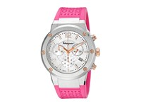 Salvatore Ferragamo F 80 Fih020015 Stainless Steel Fuchsia Watches Pink