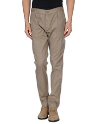 M.Grifoni Denim Trousers Casual Trousers Men Khaki