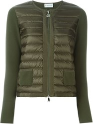 Moncler 'Tricot' Cardigan Green