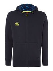 Canterbury Of New Zealand Mercury Tcr Hoodie Vapor Shield Navy
