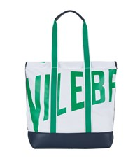 Vilebrequin Bertrand Canvas Shopping Tote Unisex