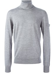 Oamc Turtleneck Jumper Grey