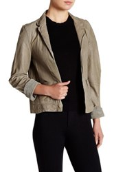 Jakett Vegetable Dye Leather Audrey Jacket Gray