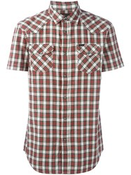 Diesel Plaid Shirt Multicolour