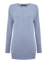 Joules Relaxed Fit Jumper Blue