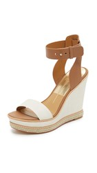 Dolce Vita Heath Wedge Sandals White