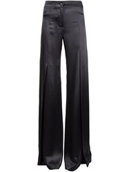 Ann Demeulemeester Flared Trousers Grey