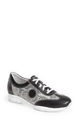 Mephisto 'Yael' Soft Air Sneaker Women Soft Black