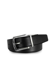 Moreschi Orlando Black Brown Reversible Leather Belt