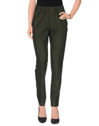 Momoni Momoni Trousers Casual Trousers Women Dark Green