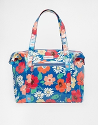 Cath Kidston Large Zipped Shoulder Bag Trueblue