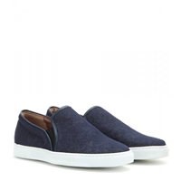 Tabitha Simmons Huntington Denim Slip On Sneakers