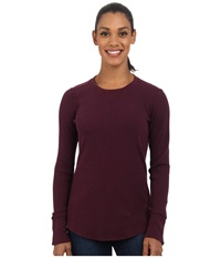 Carhartt Hayward T Shirt Malbec Heather Women's T Shirt Mahogany