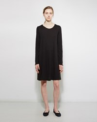 Raquel Allegra Jersey Bell Dress Black