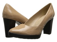 Bella Vita Zari Ii Nude Patent Women's Shoes Beige