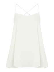 Glamorous Sleeveless Cami Top Cream