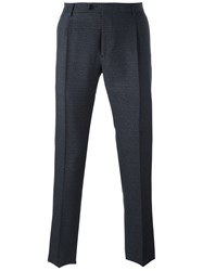 Etro Wool Blend Trousers Blue
