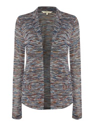La Fee Maraboutee Long Sleeved Knitted Jacket Multi Coloured