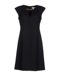 Gigue Short Dresses Black