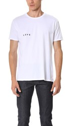 Quality Peoples Love Amor Tee White