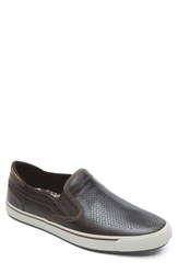Men's Rockport 'Path To Greatness' Slip On Dk Brown