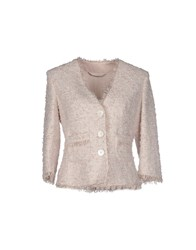 Les Copains Suits And Jackets Blazers Women Light Pink