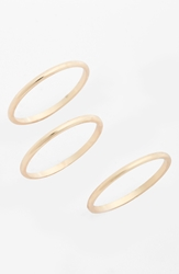Bp Thin Bar Midi Rings Set Of 3 Juniors Gold