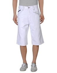Karl Kani Denim Bermudas White