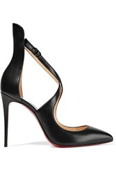 Christian Louboutin Marlenarock 100 Leather Pumps Black