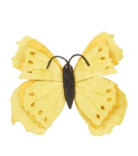 Nancy Gonzalez Butterfly Bag Clip Female Yellow