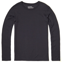 Nanamica Coolmax Loopwheel Long Sleeve Jersey Tee Navy
