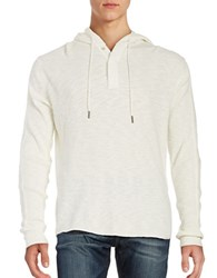 Lucky Brand Thermal Long Sleeved Hoodie Marshmello