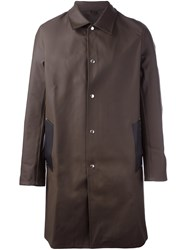Stutterheim 'Vasastandk' Trench Coat Brown