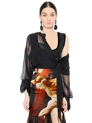 Givenchy Silk Chiffon Shirt