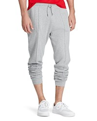 Polo Ralph Lauren Ribbed Cotton Jogger Sweatpants Andover Heather