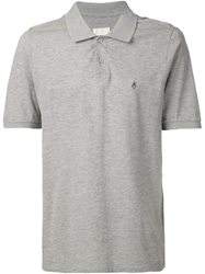Band Of Outsiders Embroidered Logo Polo Grey