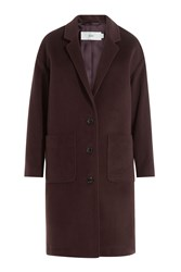 Closed Wool Cashmere Coat Red