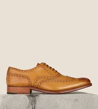 Grenson Martha Lace Up Brogues Tan