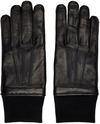 Lanvin Black Lambskin Gloves