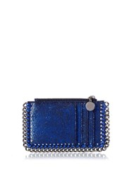 Stella Mccartney Falabella Coin Purse And Cardholder Blue