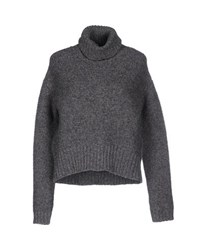 Alpha Massimo Rebecchi Knitwear Turtlenecks Women Grey