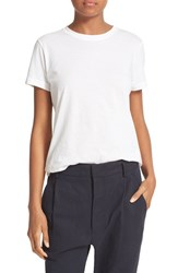 Vince Women's Pima Cotton Tee White
