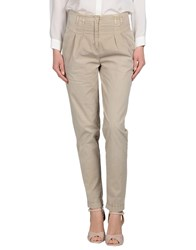 Magazzini Del Sale Trousers Casual Trousers Women Beige