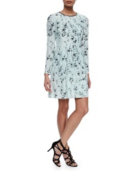 Andrew Marc New York Blurred Dot Skater Dress