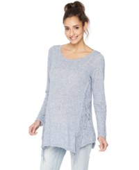 Wendy Bellissimo Maternity Fringed Sweater