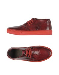 Preventi Footwear Low Tops And Trainers Men Maroon