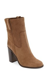 Kate Spade Women's New York 'Baise' Bootie Tobacco Sport Suede