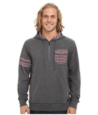 O'neill Double Up Pullover Charcoal Men's Long Sleeve Pullover Gray