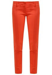 Patrizia Pepe Trousers Cayenne Red Coral